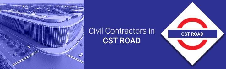 Civil Contractors in CST Road