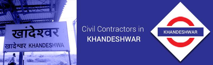 Civil Contractors in Khandeshwar