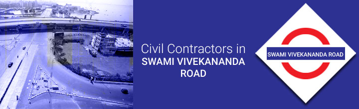 Civil Contractors in Swami Vivekananda Road